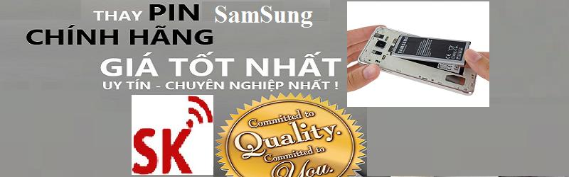 Thay pin Samsung