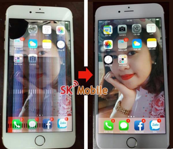 Thay màn hình - thay mặt kính iphone 6s plus